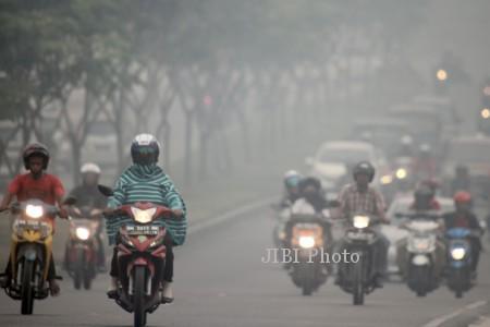 ilustrasi kabut asap Riau (JIBI/Solopos/Dok.)