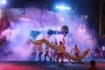 Naga liong dalam Jogja Dragon Festival di jalan Malioboro, Kamis (13/2/2014) malam. (JIBI/Harian Jogja/Desi Suryanto)