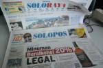 SOLOPOS HARI INI : Minuman Berakohol 20% Legal, Hearing DPRD Diboikot