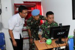 FOTO TELKOM GANDENG PASPAMPRES : Broadband Learning Center