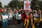 FOTO PEMILU 2014 : Aksi Antigolput
