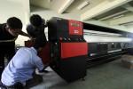 Mesin Digital Printing. (Burhan Aris Nugraha/JIBI/Solopos)