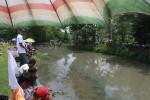 FOTO PEMILU 2014 : Memancing Saat Kampanye Terbuka Caleg DPRD