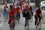 FOTO MIDER PRAJA : Bersepeda bersama jajaran SKPD