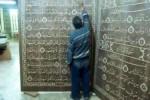 KISAH INSPIRATIF : Pria Suriah Bikin Ukiran Alquran Terbesar di Dunia