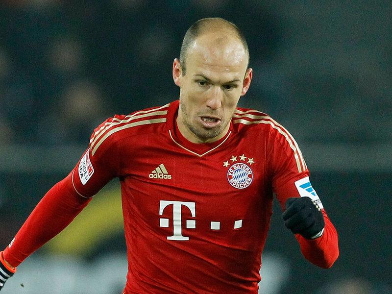 Arjen Robben. Ist/skysport.com