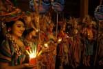 Earth Hour 2014 di Pendapi Gede Solo, Sabtu (29/3/2014) malam. (Sunaryo HB/JIBI/Solopos)