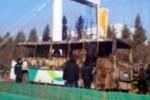 Ilustrasi bus terbakar di China (Youtube.com)