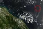 Ilustrasi pencitraan satelit atas lokasi hilangnya MH370 (marufish.com)