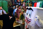 FOTO PEMILU 2014 : Sosialisasi Pemilu di Pasar