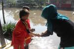 BANJIR KLATEN : Sekolah di Ceper Terendam, Pembangunan Perumahan Dituding Picu Banjir