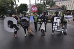 FOTO AKSI ANTI BATUBARA :  Aksi Mendesak Pemerintah