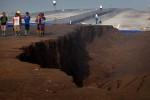 FOTO TOL GEMPOL-PORONG : Penurunan Tanah Proyek Tol Gempol-Porong