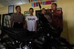 Tersangka pencurian sepeda motor