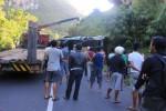 KECELAKAAN GUNUNGKIDUL : Bus Rombongan Nelayan Terperosok, Satu Orang Tewas
