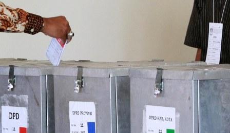 Ilustrasi pemungutan suara Pemilu 2014 (Desi Suryanto_JIBI_Harian Jogja)
