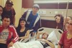 Olga Syahputra yang tengah sakit di rumah sakit (liputan6.com)