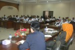 Sejumlah buruh mengikuti hearing dengan Komisi IV DPRD Sukoharjo di gedung Dewan setempat, Jumat (25/4/2014). (JIBI/Solopos/Iskandar)
