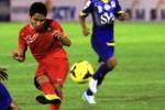 Aksi Kapten Timnas Indonesia U-19 Evan Dimas Darmono di Stadion Manahan, Solo. (Burhan Aris Nugraha/JIBI/Solopos)