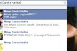 Meisya Candra Kartika di Facebook (facebook.com)