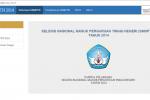 Tampilan Situs Resmi SNMPTN 2014