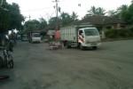 MERAPI WASPADA : Satu-Satunya Jalur Evakuasi di Klaten Parah, Jalur Baru Dibangun