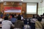Suasana pleno penghitungan suara hasil Pemilu 2014 oleh KPU Gunungkidul, Minggu (11/5/2014). (Kusnul Isti Qomah/JIBI/Harian Jogja)