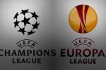 ilustrasi: Liga Champions dan Liga Europa.