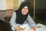 Angga Dwituti Lestari, mahasiswa UNS ber-IPK 3,98 (Bayu Jatmiko/JIBI/Solopos)