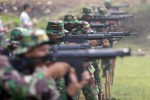 FOTO AKSI TNI : Lomba Menembak Meriahkan HUT Kodam