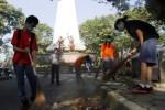 RUANG PUBLIK SOLO : Taman Monjari Hanya Dibuka 1 Pintu, Ini Alasannya