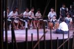 Siswa Focus Independent School melakukan gladi bersih pentas seni akhir semester di Gedung Kesenian Balekambang, Solo, Senin (9/6/2014). Drama musikal dengan judul Keluarga Bambu tersebut merupakan salah satu mata acara dalam pentas seni atau pensi yang menampilkan seluruh siswa sekolah dasar itu. (Ardiansyah Indra Kumala/JIBI/Solopos)