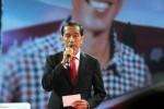 Jokowi dalam debat capres 2014, Minggu (15/6/2014). (Dedi Gunawan/JIBI/Bisnis)