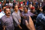 Wali Kota Solo, FX Hadi Rudyatmo atau Rudy (kiri) bersama Jokowi (Sunaryo Haryo Bayu/JIBI/Solopos)