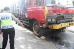 KECELAKAAN SOLO : Laka Karambol, Truk Seruduk 3 Kendaraan di Ring Road Mojosongo