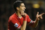 Luis Suarez yang membawa Liverpool mentereng kini dilirik Real Madrid. Ist/telegraph.co.uk