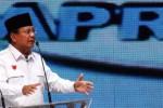 Prabowo Subianto saat Debat Capres (Dwi Prasetya/JIBI/Bisnis)