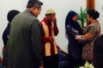 Raeni dan ayahnya yang bertemu dengan SBY (twitter.com)