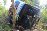 Ilustrasi bus terguling (Kusnul Isti Qomah/JIBI/Harian Jogja)
