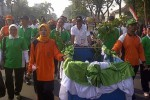 Kirab Adipura di CFD Karanganyar, Minggu (8/6/2014). (Indah Septoyaning W/JIBI/Solopos)