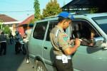 Suasana razia internal anggota Polres Gunungkidul di Mapolres, Kamis (5/6/2014). (Foto Istimewa)