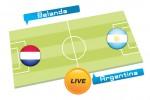 Kuis Tebak Skor Piala Dunia Brasil 2014 antara Belanda vs Argentina