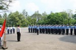 FOTO HUT RI 2014 : Paskibra Mulai Berlatih Jelang Hari Kemerdekaan