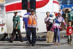 MUDIK LEBARAN 2014 : 500 Perantau Dijemput Pemkab Karanganyar