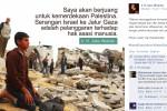 ISRAEL SERANG JALUR GAZA : Jokowi Unggah Foto Kecaman Serangan Israel