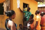 Penyuluhan bahaya ebola di Monrovia, Liberia. (JIBI/Solopos/Reuters/Samaritan's Purse)