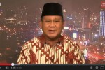 Prabowo saat wawancara dengan BBC News (youtube)