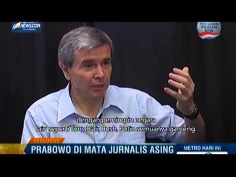 Allan Nairn dalam wawancara dengan Metro TV beberapa waktu lalu (Istimewa/Kaskus/Courtesy Youtube)
