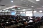 Banyak kursi kosong dalam pelaksanaan rapat Banggar di DPRD yang membahas RAPBD-Perubahan 2014, Rabu (16/7/2014). Hanya tiga orang anggota Banggar (duduk di kuri belakang) dan dua orang pimpinan Banggar (depan) yang terlihat dalam forum resmi itu. (JIBI/Solopos/Tri Rahayu)