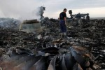 Puing-puing Malaysia Airlines MAS MH 17 yang jatuh di Ukrania (JIBI/Reuters)